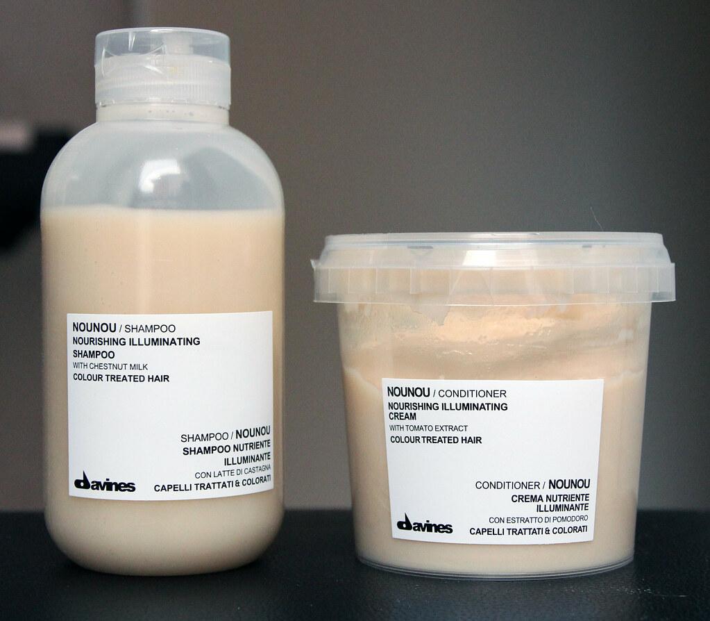 Davines Nounou shampoo & conditioner