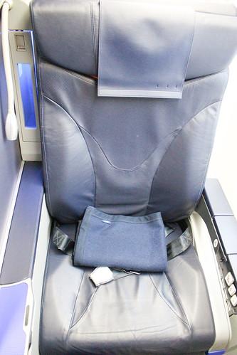 787のプレミアムクラスのシート