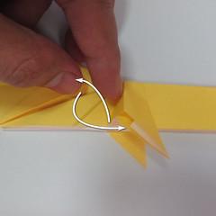 สอนวิธีพับกระดาษเป็นรูปลูกสุนัขยืนสองขา แบบของพอล ฟราสโก้ (Down Boy Dog Origami) 065