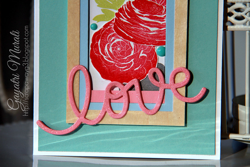 Love card close up!