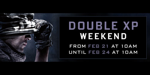 Call of Duty: Ghosts PC Multiplayer free on steam with double XP weekend