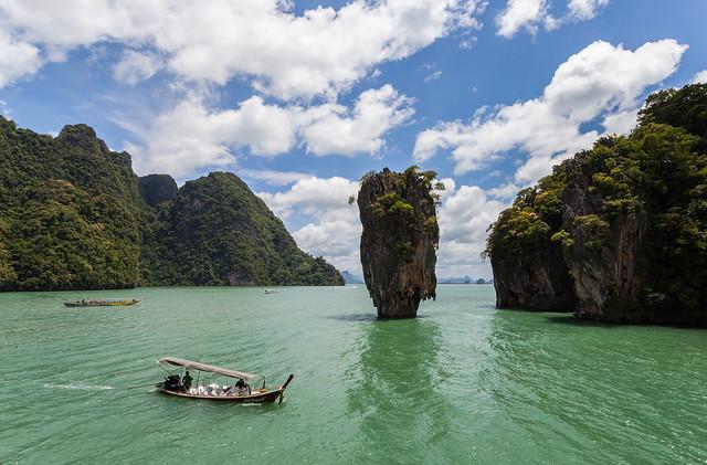 Ko Tapu, Bahía de Phang Nga. Tailandia.