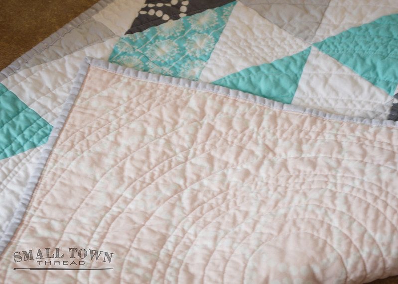 Triangles Baby Quilt