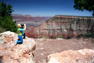 Little Lon Photographing the Grand Canyon