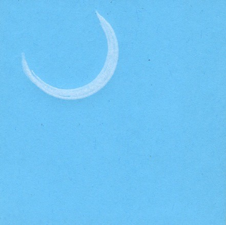 moon post-it by Bricoleur's Daughter