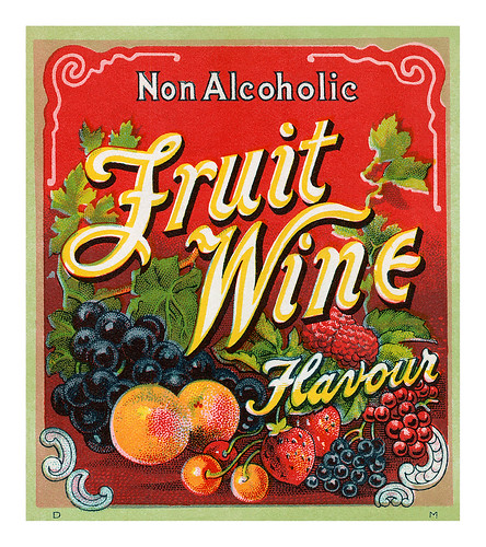 Fruit Wine Label by totallymystified