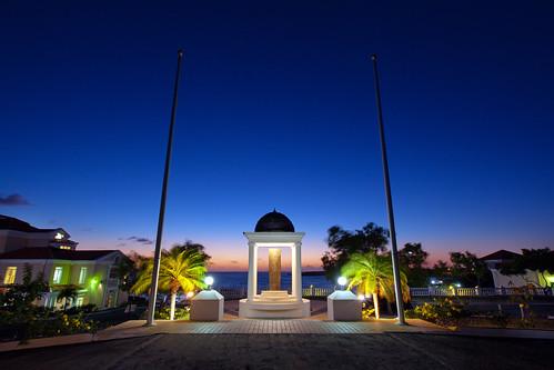 sunset campus grenada caribbean stgeorgesuniversity truebluecampus campusstock interventionmemorial
