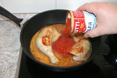 28 - Tomaten dazu geben / Add tomatoes
