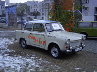 Trabi Safari, Berlin, 26th.November 2008