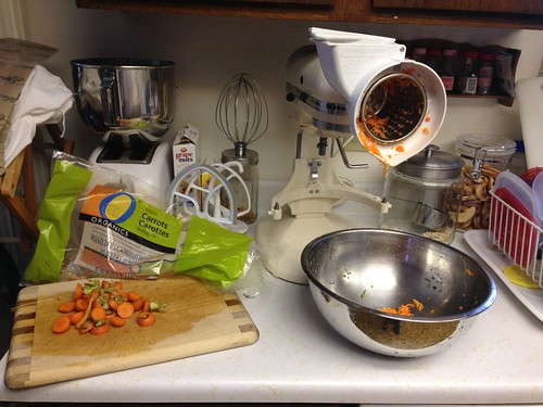 carrot processing station