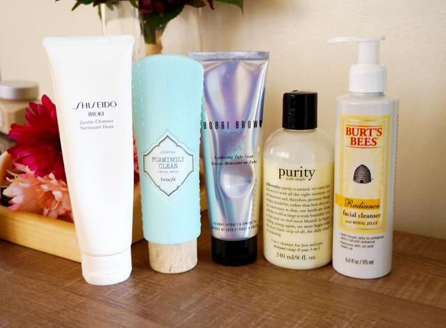 Expensive facial creams