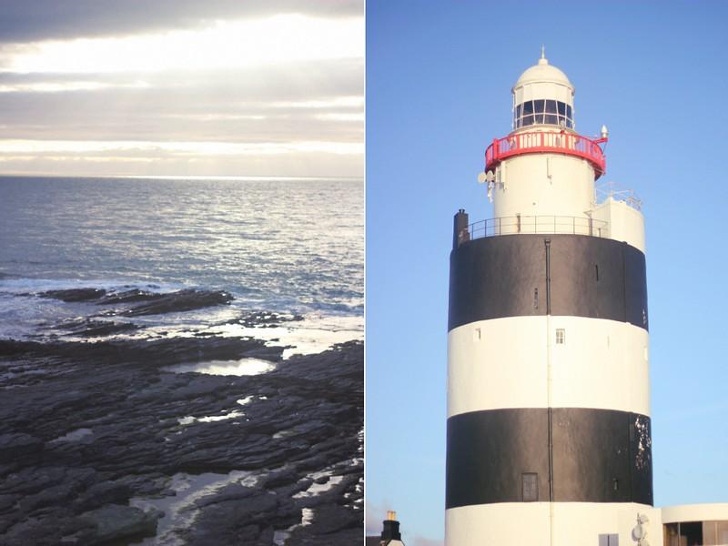 hook lighthouse & sea