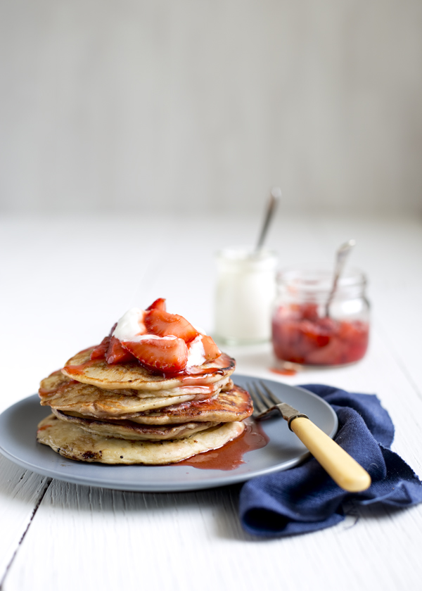 The Gluten Free Scallywag | Banana Nutella pancakes