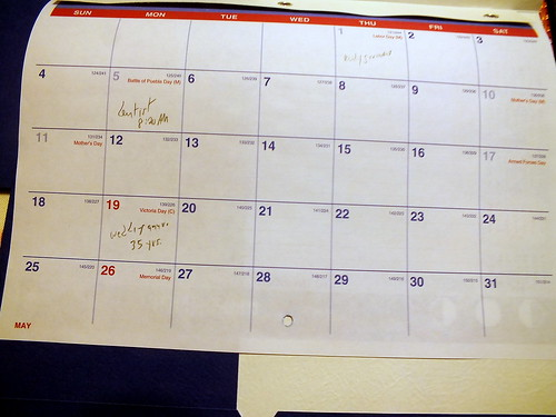 diary May 2014