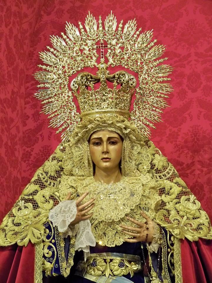 Nuestra Señora de la Soledad Coronada, Salteras (Sevilla)