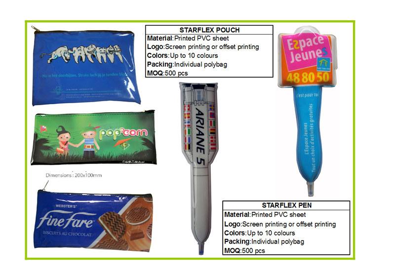 soft pouch,pvc pen