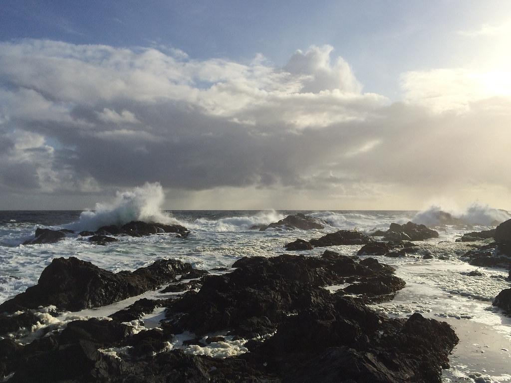 Wasser auf Fels