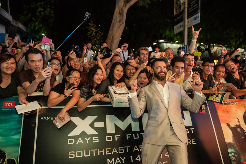 Blue Carpet - Hugh Jackman