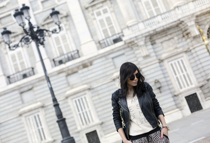 street style barbara crespo C&A pants rocker alter ego palacio real madrid fashion blogger outfit blog de moda