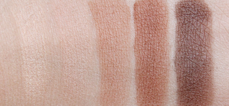 Estée Lauder Bronze goddess 2014 eyeshadow palette swatch