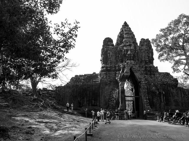 Entering Angkor Thom