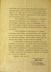 VI/1. Sajó István kérelme: mentesítő okiratot kér, mert a kivételezetteknek nem kellett a gettóba beköltöznie. 6.5_002
