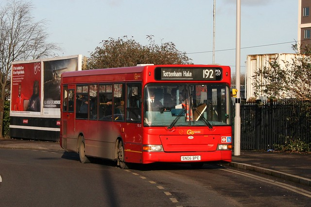 London General PDL137 on Route 192, Tottenham Hale