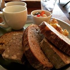 pâté lunch & cake salé♡ #lunch #kitahama #café #lebois #pâté #cakesalé #japan #osaka