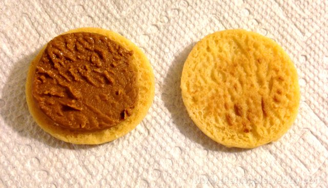 Trader Joe's Cookie Butter Sandwich Cookies Topless