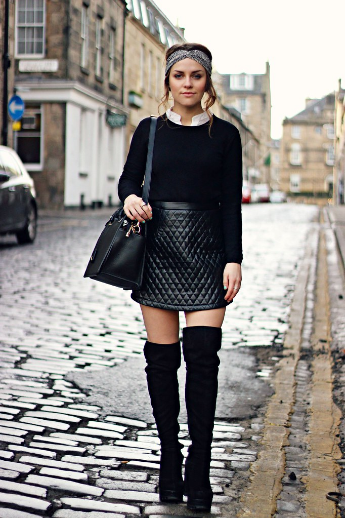 Ladylike Bags And Thigh High Boots The Little Magpie