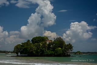 Sri Lanka. Weligama. Taprobane island.