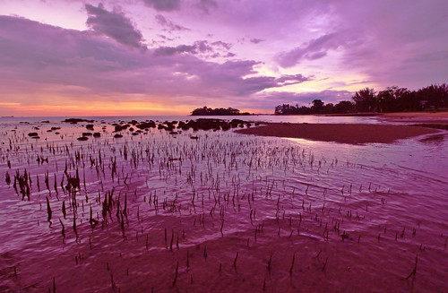 trip travel sunset beach canon eos coast shorelines seascapes places malaysia melaka canonlens telukgong canoneos700d eos700d rebelt5i canonefs1018mmf456isstm