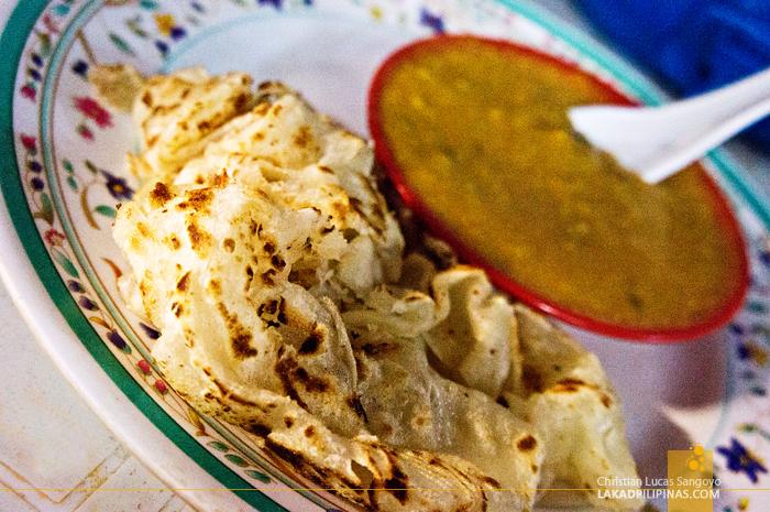 Roti Canai in Chinatown Kuala Lumpur