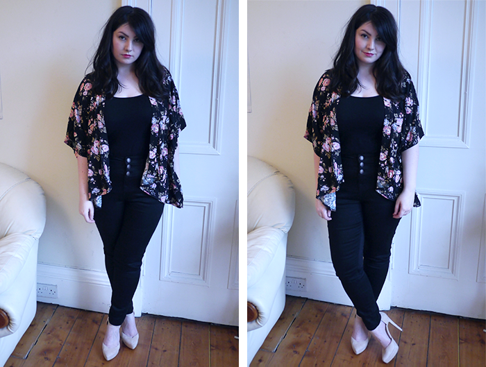 new look black jeans smart denim outfit 1