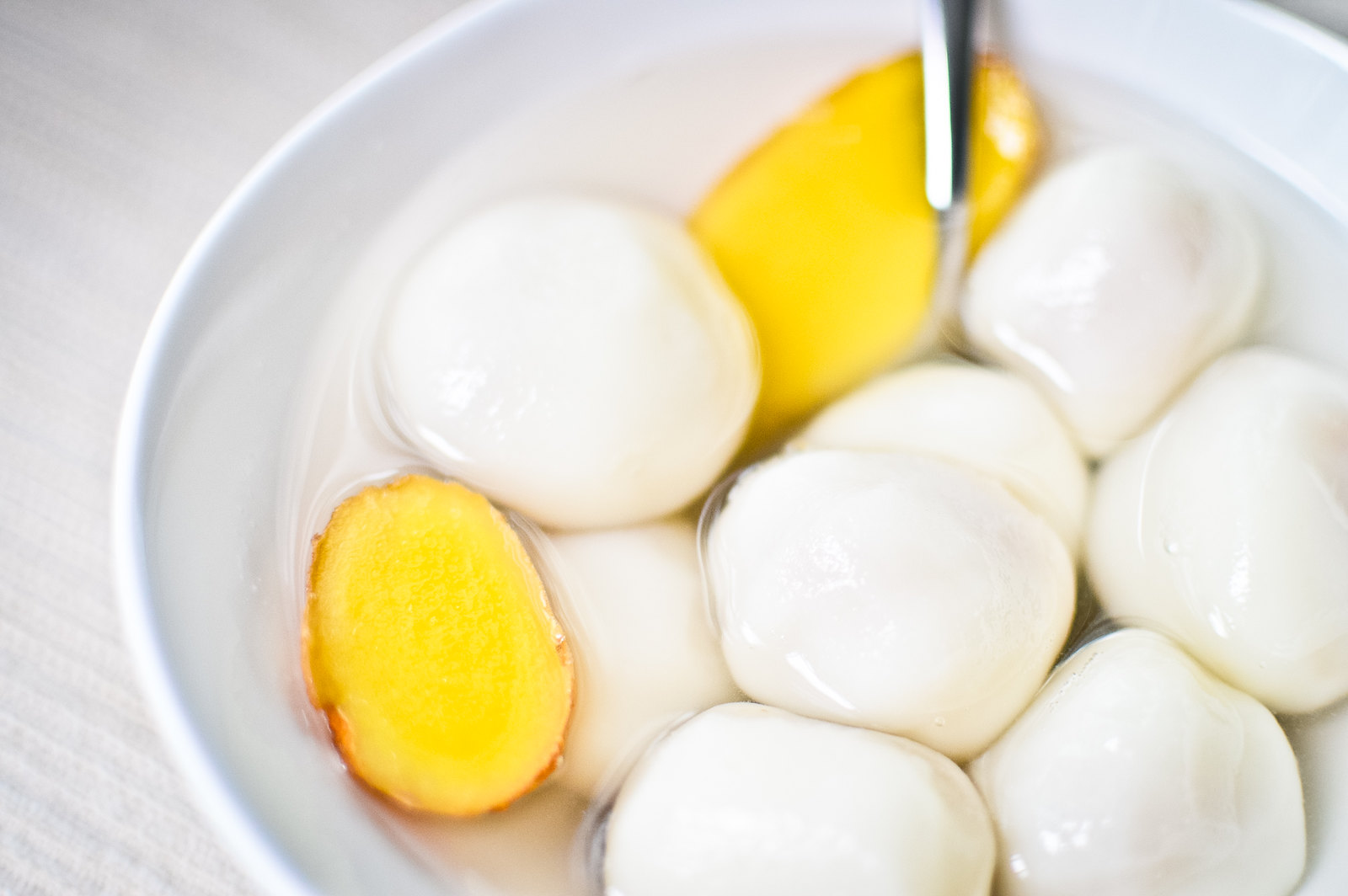 Tang Yuan with Peanut Filling