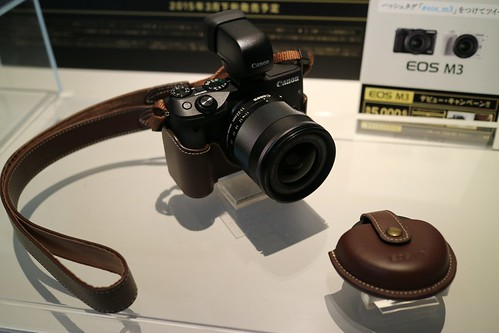 "Body Jacket(EH27-CJ), Neck strap(EM-E2), Original Lens capcase Canon EOS M3 80 ""EF-M22mm F2 STM"""