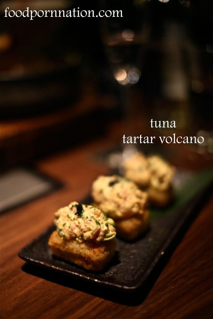 Tuna tartar volcano - Kintan