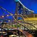 The Helix Bridge & Marina Bay Sands... by williamcho