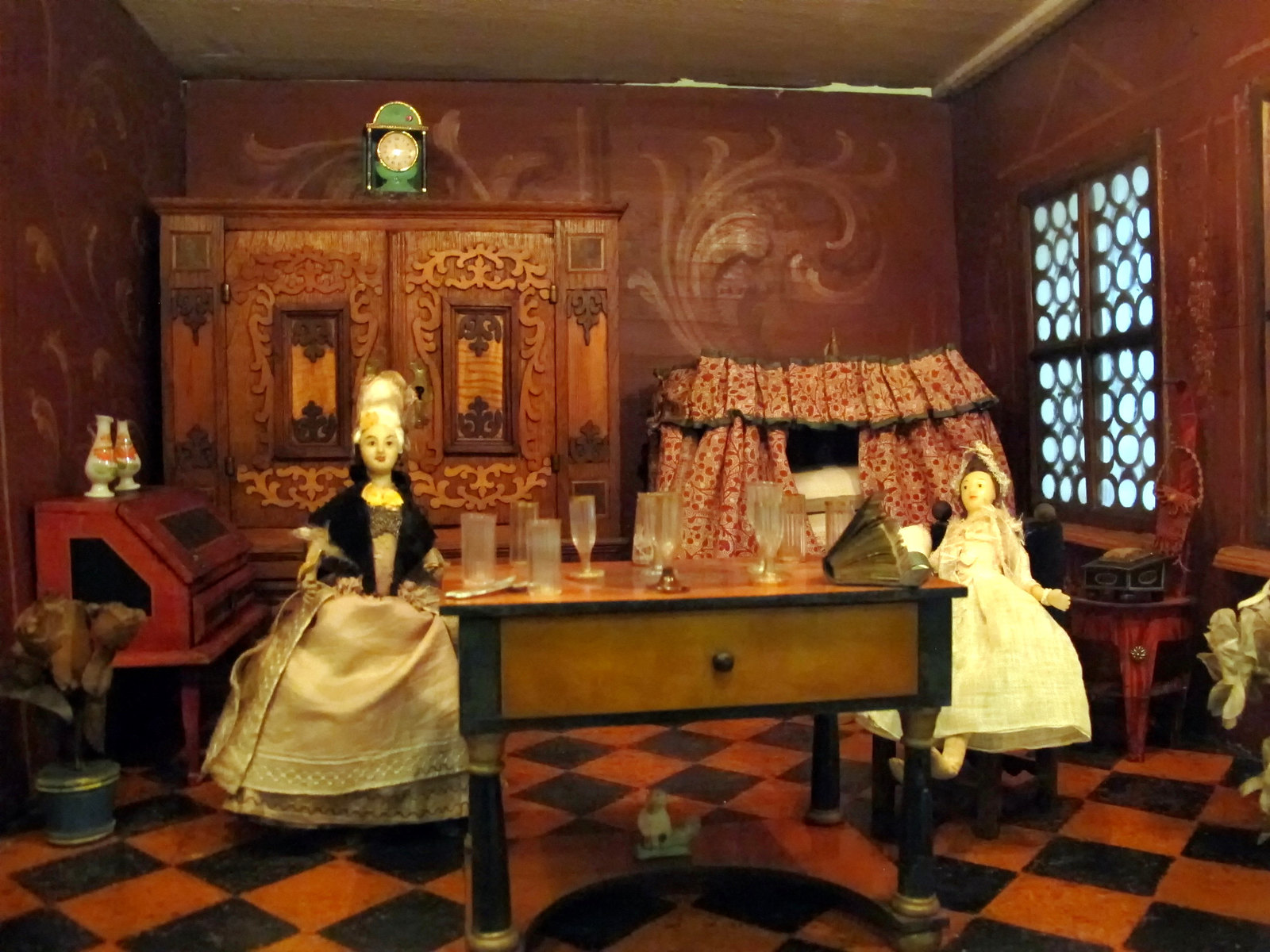Bäumler family doll house nuremberg, ca 1650-1700. Credit Sailko