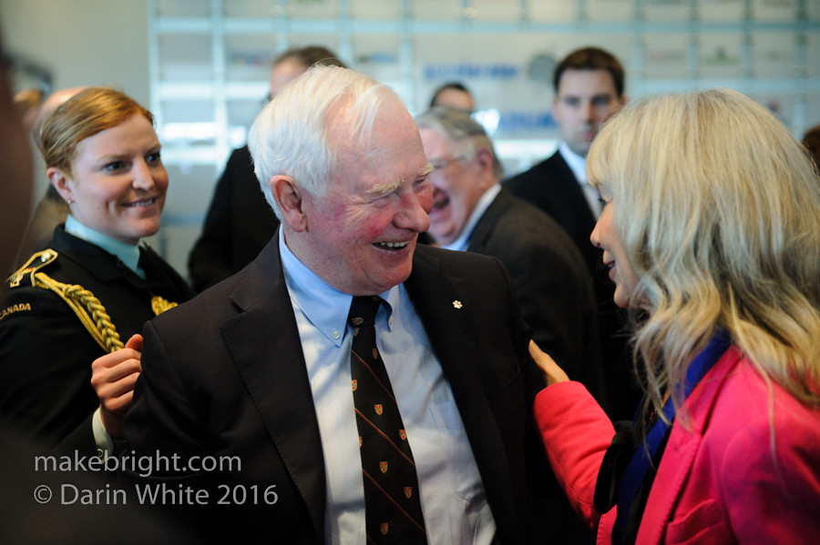 Governor General David Johnston at the AC - May 2016 414