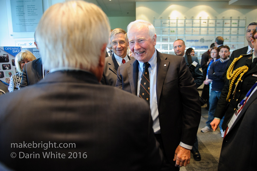 Governor General David Johnston at the AC - May 2016 454