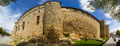 Panorama on the Southern Wall of Avila