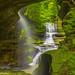 Clifty Creek Falls on Grayson Lake, KY by Ulrich Burkhalter