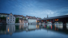 Gailingen am Hochrhein - Blue Hour