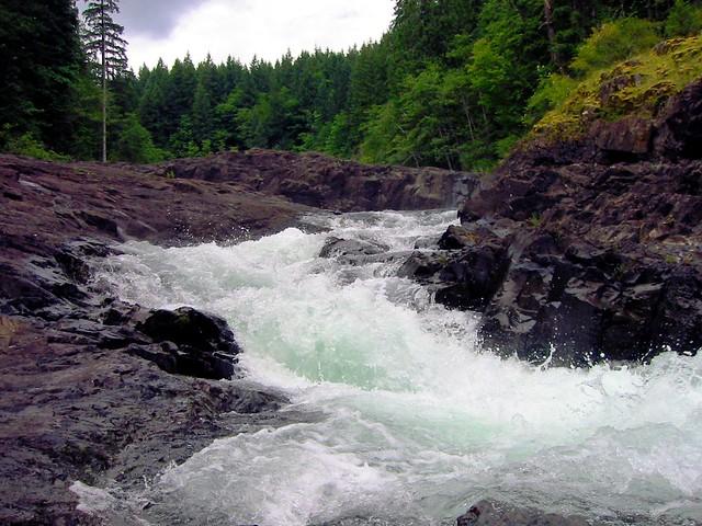 Elk Falls Provincial Park, Canon POWERSHOT S300