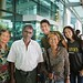 Saying goodbye to our friendly taxi driver at Yangon Airport by B℮n