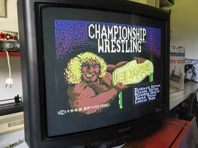 Championship Wrestling for C64