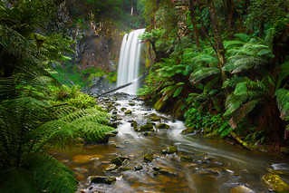 Hopetoun Falls and Aire Stream