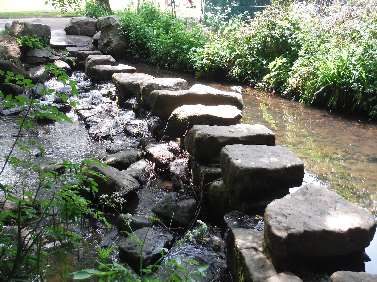 Endcliffe Park, Stepping Stones SWC Walk 267 - Sheffield Circular (via Porter, Limb, Sheaf and Gleadless Valleys)