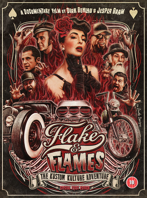 Flake & Flames DVD (Frontcover)